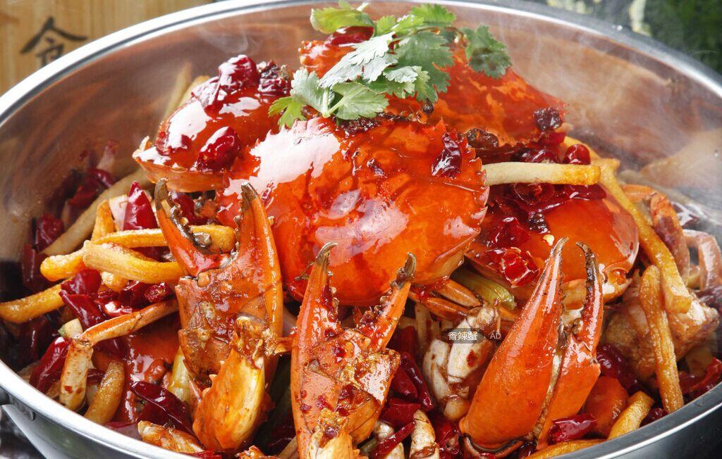 大闸蟹的做法之香辣蟹
