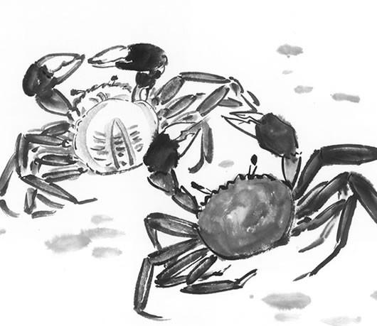 那些爱蟹如命的古人