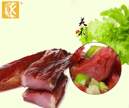 巴仙蟹美味咸肉